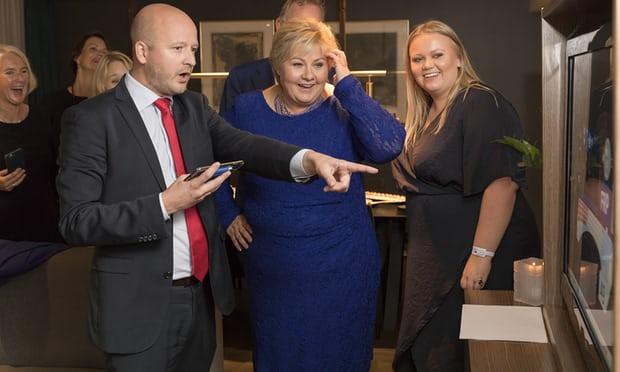Норвешките конзервативци објавија победа на парламентарни избори