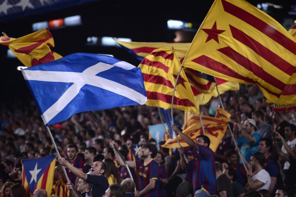 Шкотска ја поддржа независноста на Каталонија