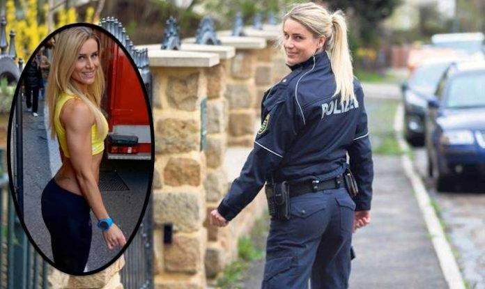 ФОТО: Најжешката полицајка која сте ја виделе до сега!