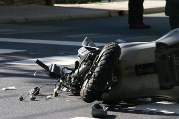 Мотоциклист тешко повреден во сообраќајка во Скопје
