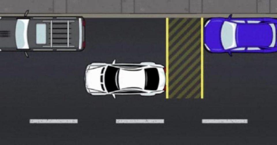 РЕШЕТЕ ГО ПРОБЛЕМОТ СО ПАРКИРАЊЕТО ЕДНАШ ЗА СЕКОГАШ: После оваа шема ќе паркирате како вистински професионалец  (ВИДЕО)