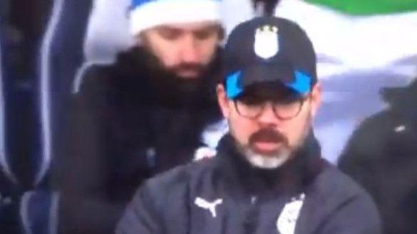 Хит во Премиерлигата: Покрај главата на тренерот се појави – пенис! (ВИДЕО)