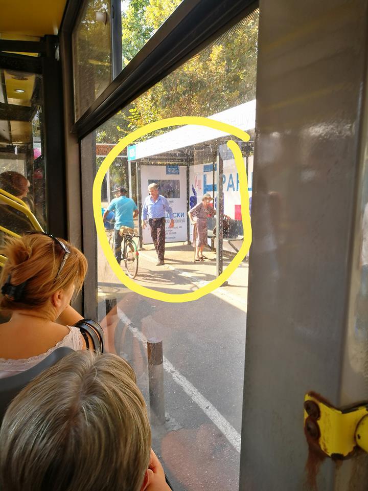Фото: Фотографија од автобус на ЈСП за која сите зборуваат – секоја чест за возачот
