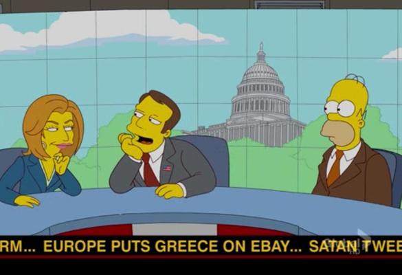ВИДЕО: Симпсонови ја предвидоа и судбината на Грција?!