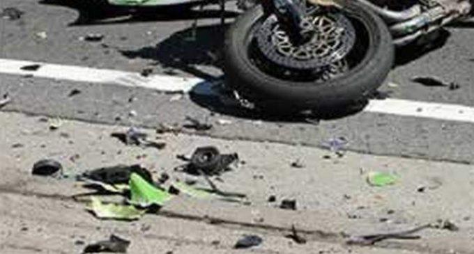 Се судрија мотоцикл и трактор на патот Градско – Прилеп, мотоциклистот пренесен во болница