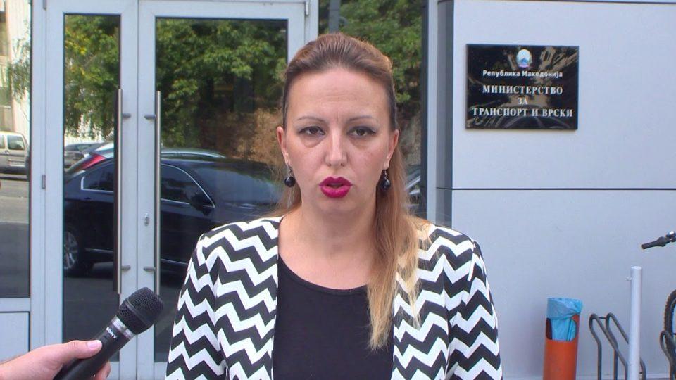 Запрена постапката против пратеничката Жаклина Пешевска за настаните во Собранието