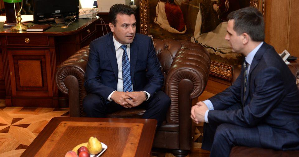 Средба Заев – Касами: 99% е сигурно дека Беса на Касами ќе бидe дел од владата