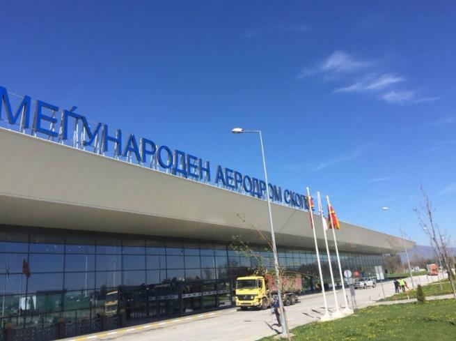 Апсење на скопскиот аеродром: Го депортирале од Швајцарија