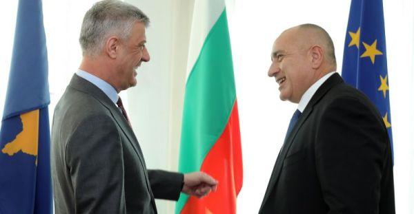 Тачи му додели Орден за независност на Борисов