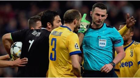 Смртни закани за судијата кој пресуди пенал на мечот меѓу Јуве и Реал Мадрид