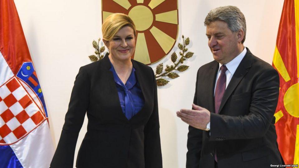 Грабар-Китаровиќ: Хрватска ќе направи се за Македонија да ги започне преговорите со ЕУ