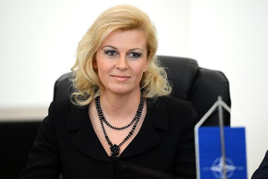 Колинда Грабар-Китаровиќ и официјално ја почнува трката за втор претседателски мандат