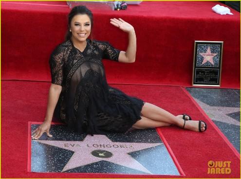 Ева Лонгорија доби своја ѕвезда на Патеката на славните