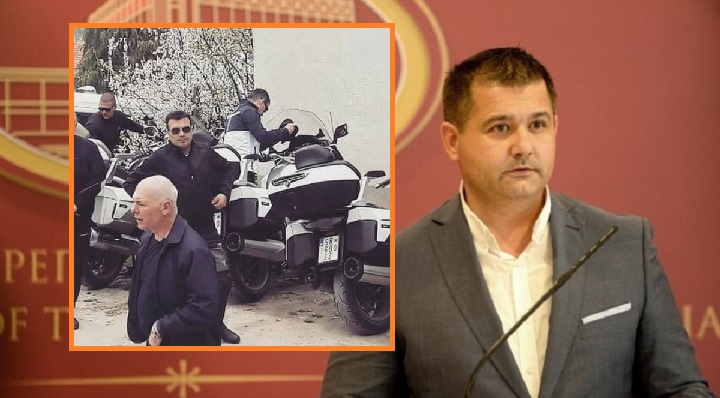 Бошњаковски откри чиј е моторот кој вчера го возеше Заев