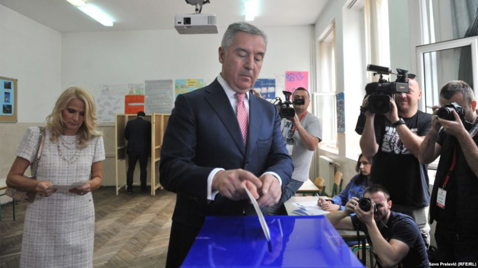 Ѓукановиќ повторно претседател на Црна Гора