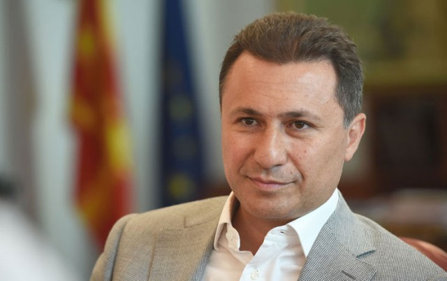 """Груевски: Одлуката на Заев за предвремени избори во неговите очи е последната """"сламка за спас"""""""