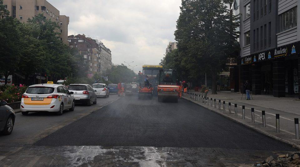 """Привремен сообраќаен режим: Возачи внимавајте на """"Партизанска"""""""