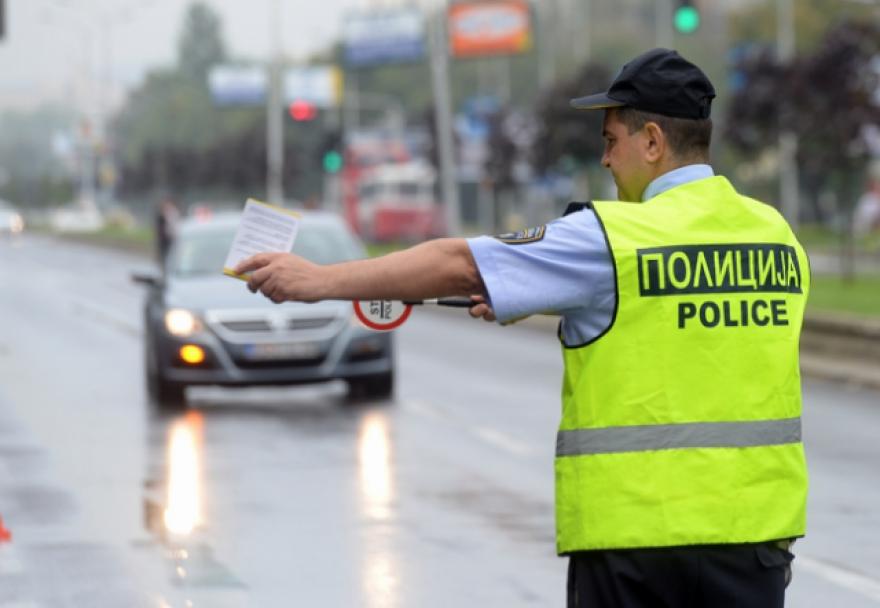 Полицијата руши рекорди: Викендов во Скопје казнети 228 возачи