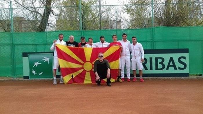 Македонија со победа против Кипар го заврши настапот на Дејвис куп