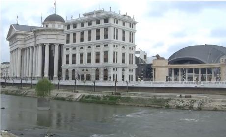 Зголемен водостојот на реката Вардар