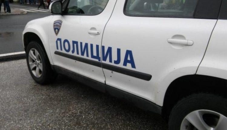 Испрскал полициско возило со бензин а потоа и сам се полеал