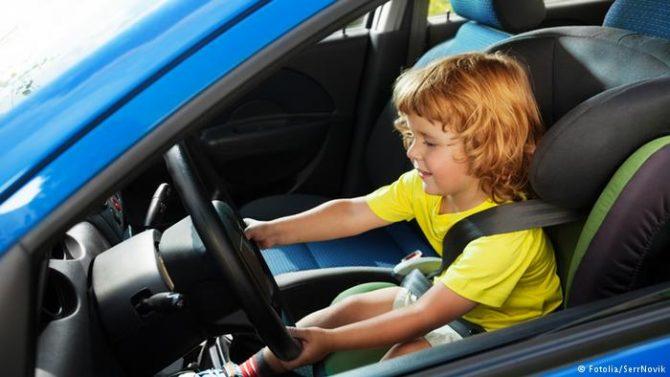 Деветгодишно дете со автомобил отишло на панаѓур