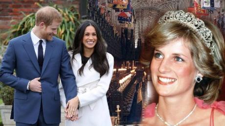 И принцезата Дајана ќе биде дел од венчавката на нејзиниот син и Меган Маркл