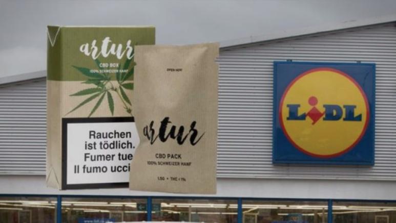 """Во """"Лидл"""" во Швајцарија можете да купите марихуана"""