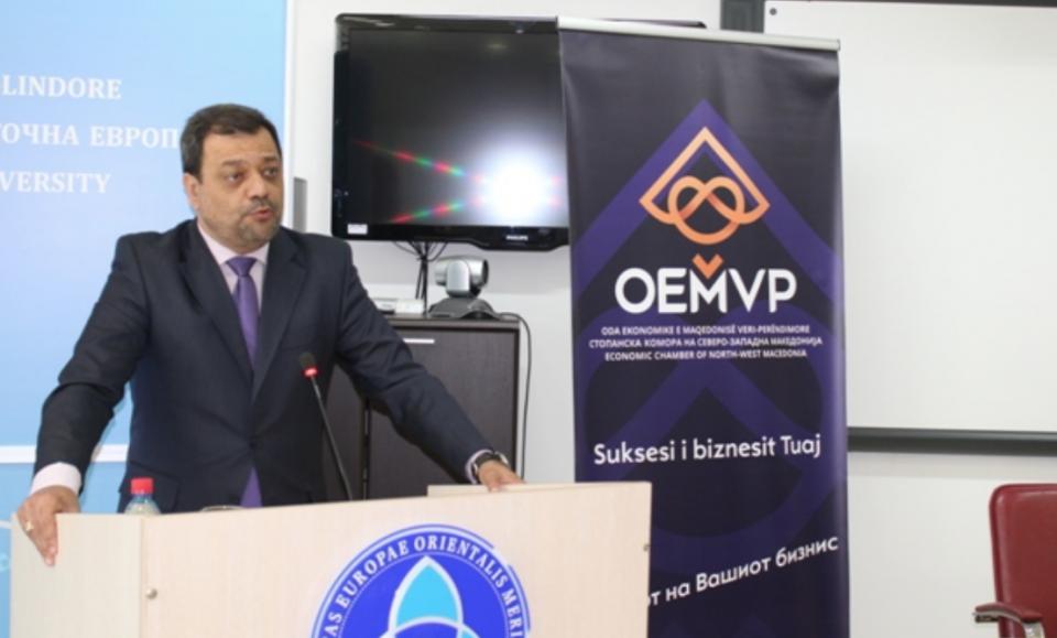 Анѓушев во Тетово: Побрз развој на економијата со новиот закон за поддршка на инвестициите