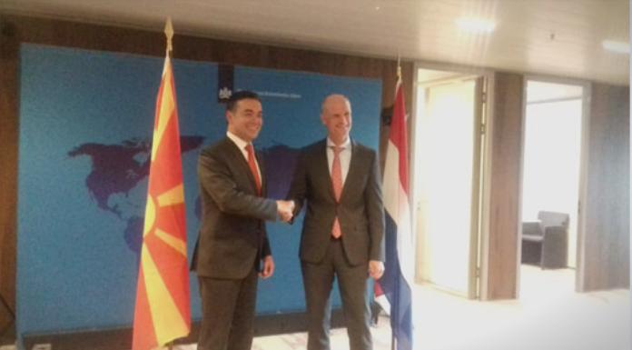 Средба Димитров-Блок: Потребен е постојан напредок на Македонија
