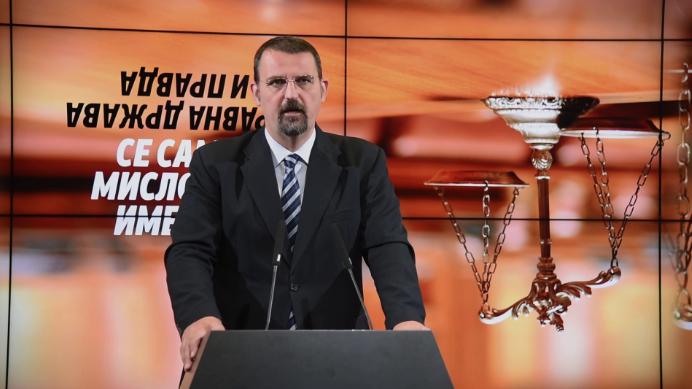 Стоилковски: Предметите Тенк и Поткуп се најдобар доказ дека судството работи под политички притисок