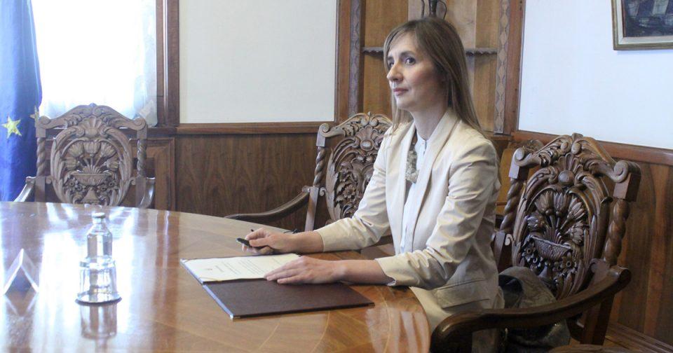 Гувернерката Ангеловска-Бежоска избрана за член на Надзорниот одбор на Виенската иницијатива 2