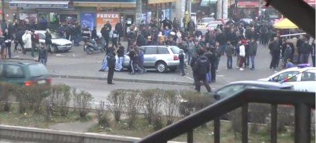 Прегазена жена на Бит Пазар – возачот веднаш избегал од местото на настанот