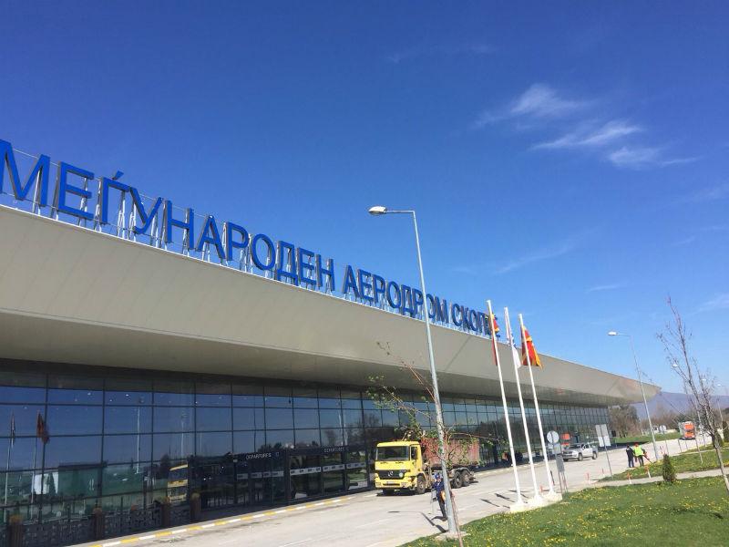 Скопскиот аеродром со раст од 119,1 отсто во поврзаноста со светот