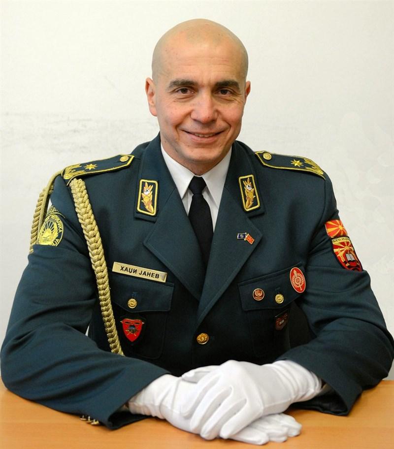 Бригадниот генерал Методи Хаџи Јанев нов командант на Полкот за специјални операции