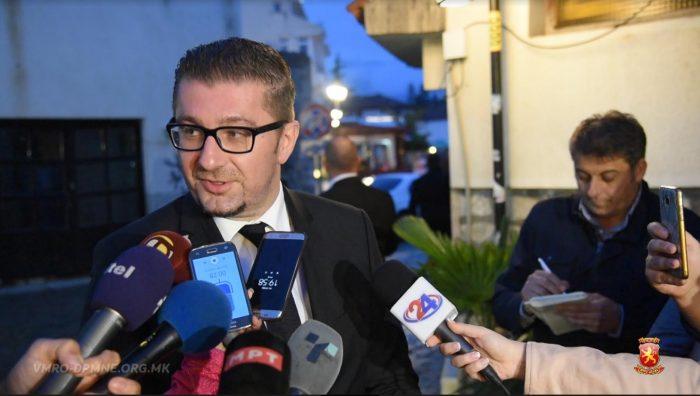 Мицкоски: Заев е апсолутен губитник на овие избори!