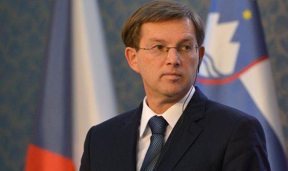 Министерот за надворешни работи на Словенија во посета на Македонија