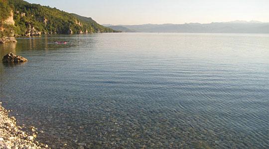 Критично ниско нивото на водата во Охридското Езеро
