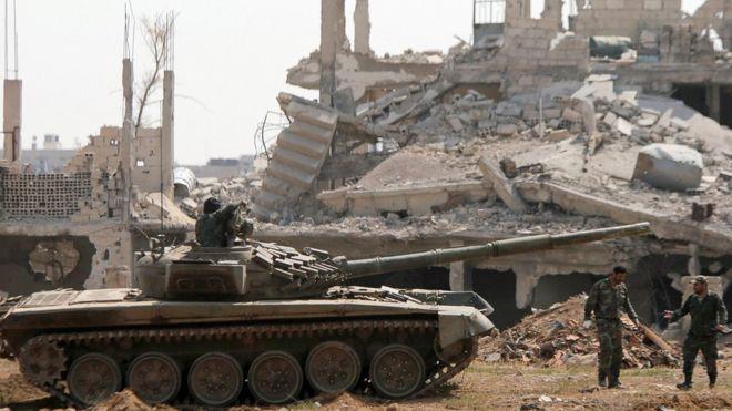 Дамаск ослободен од екстремистите (ВИДЕО)