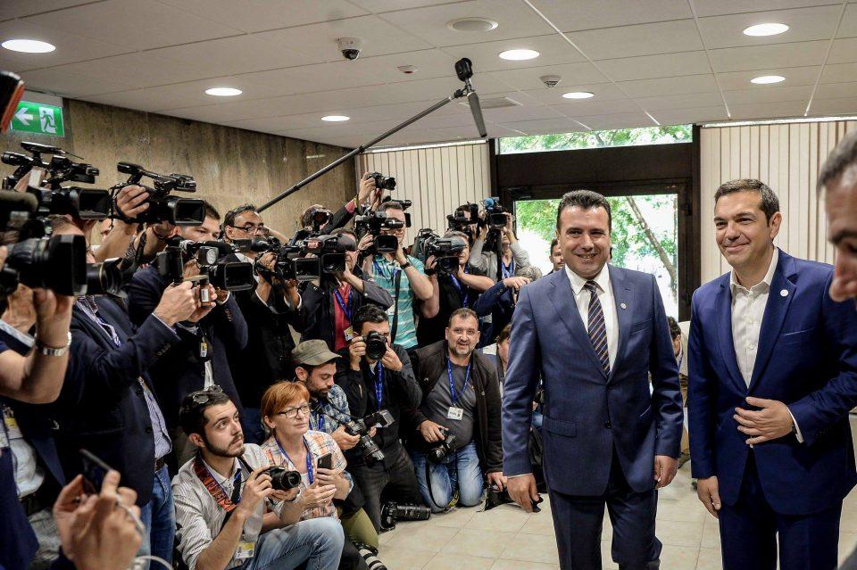 Грчки медиуми: Заев и Ципрас ќе потпишат договор за името во Преспа