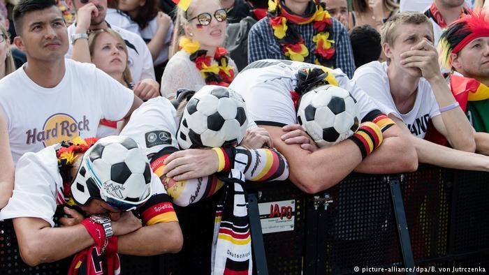 Германската економија трпи загуби поради неуспехот на германските фудбалери