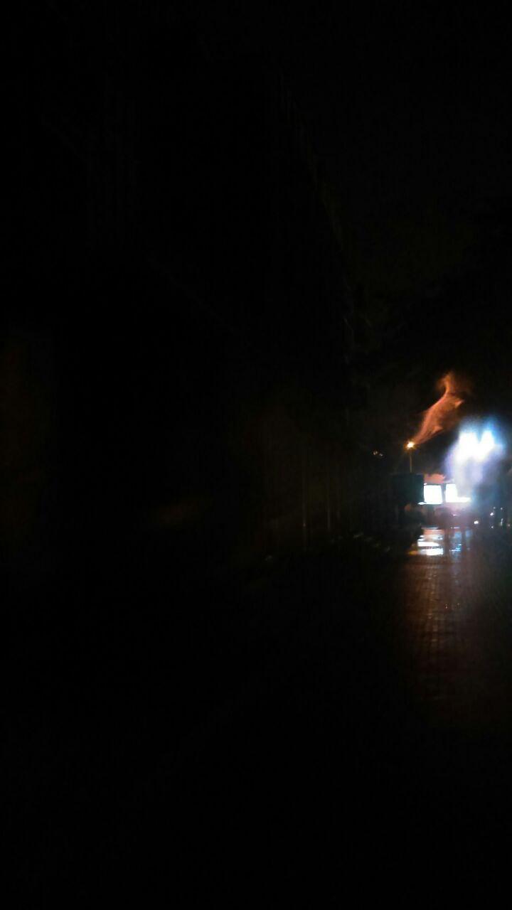 Карпошани без струја веќе петнаесет минути (ФОТО)