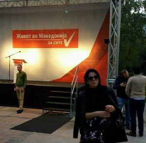 Директорката на Македонски Пошти јавно се закани: Сите кои бевте на протестот на ВМРО ќе летате од работа