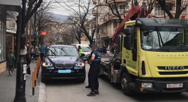 Казни за 244 возила во Скопје за непрописно паркирање