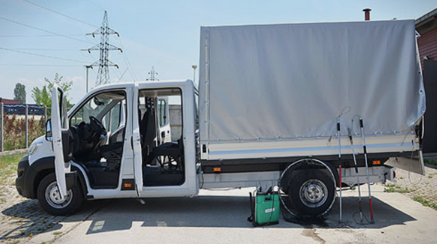 Ново возило за транспорт на бездомните кучиња во Скопје