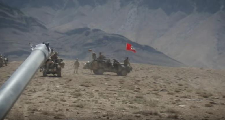 Австралиски војници истакнале нацистичко знаме за време на операција во Авганистан (ВИДЕО)