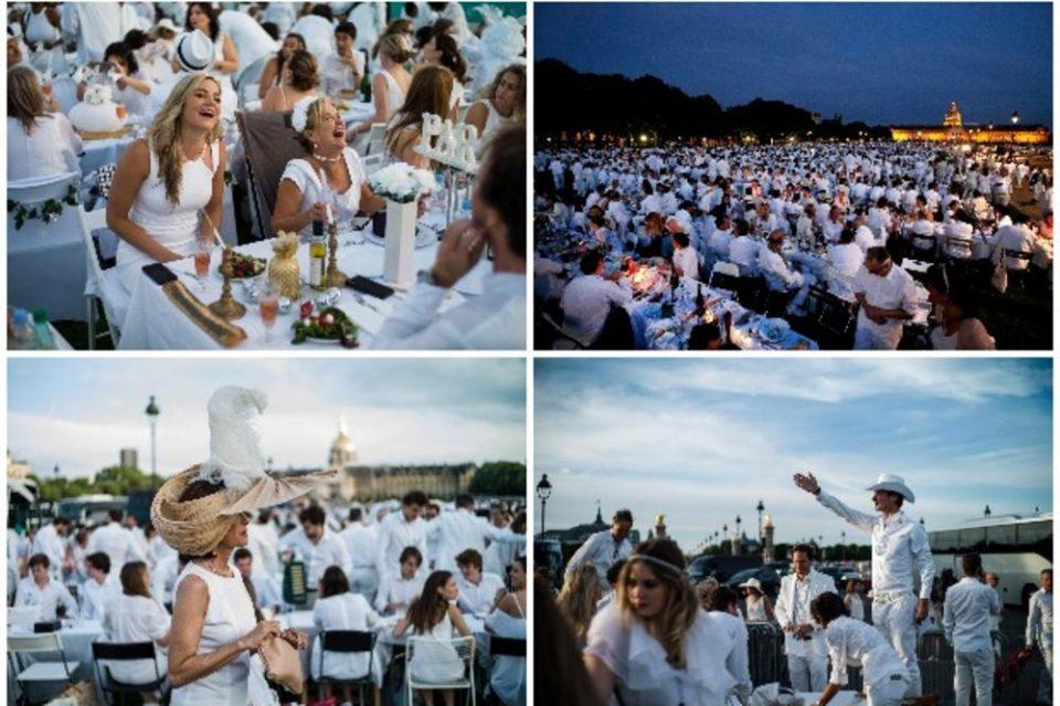 30.000 луѓе облечени во бело на заедничка вечера во Париз – локацијата беше тајна до последен момент (ФОТО)