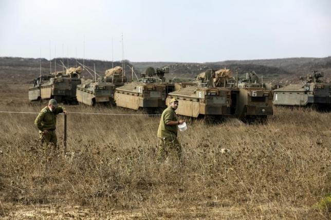 Сириската армија ги групира силите на границата со Голанската висорамнина