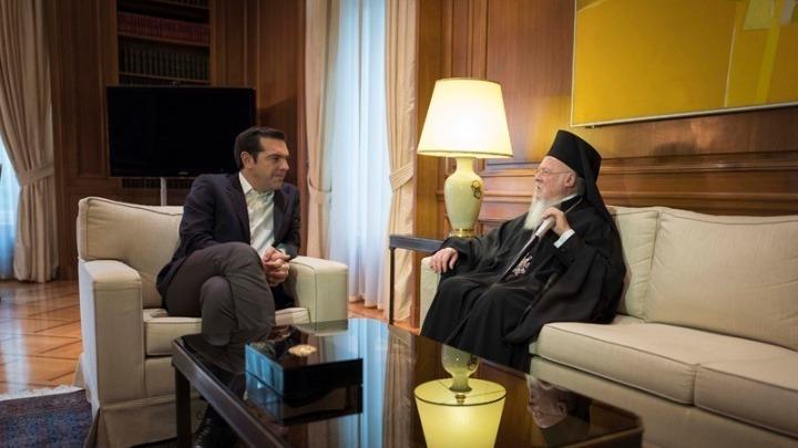 Вартоломеј и Јеронимос на средби со државниот врв за барањето на МПЦ