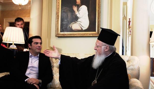 Ципрас и Вартоломеј разговарале за МПЦ